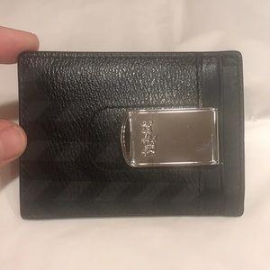 a02c53eb5b63 Coach Bags - EUC Coach Men s Slim Wallet with Money Clip